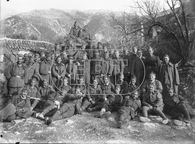 Έλληνες Στρατιώτες στη Χιμάρα 1940