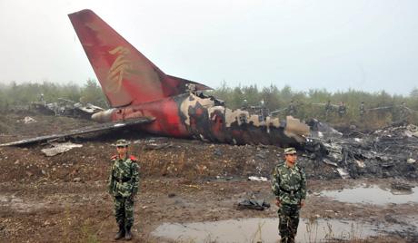 Dozens dead in Chinese plane crash