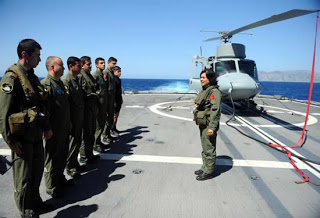 Turkish Navy (Türk) pilot female soldiers troops member women girl hoties hot cool sexy TCG Barbaros (F-244) MEKO 200 TN-II Agusta-Bell AB 212ASW Anti-submarine warfare, anti-shipping (1)