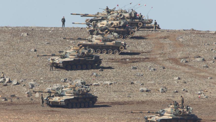 Turkey-Syria-border