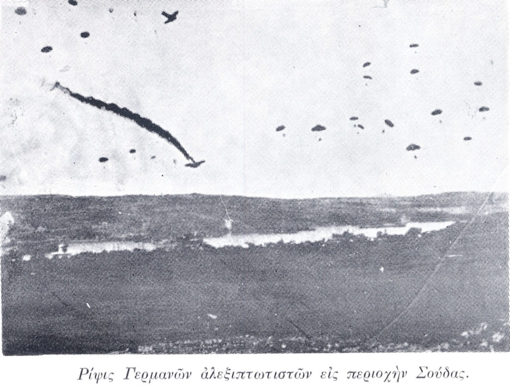 Η Μάχη της Κρήτης: Μια σπάνια μαρτυρία ενός Γερμανού Αξιωματικού των Αλεξιπτωτιστών! (Φώτο Ντοκουμέντα)