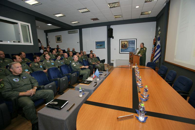 Σύσκεψη Διοικητών των Πολεμικών Μοιρών της ΠΑ στο «ΑΤΑ!»