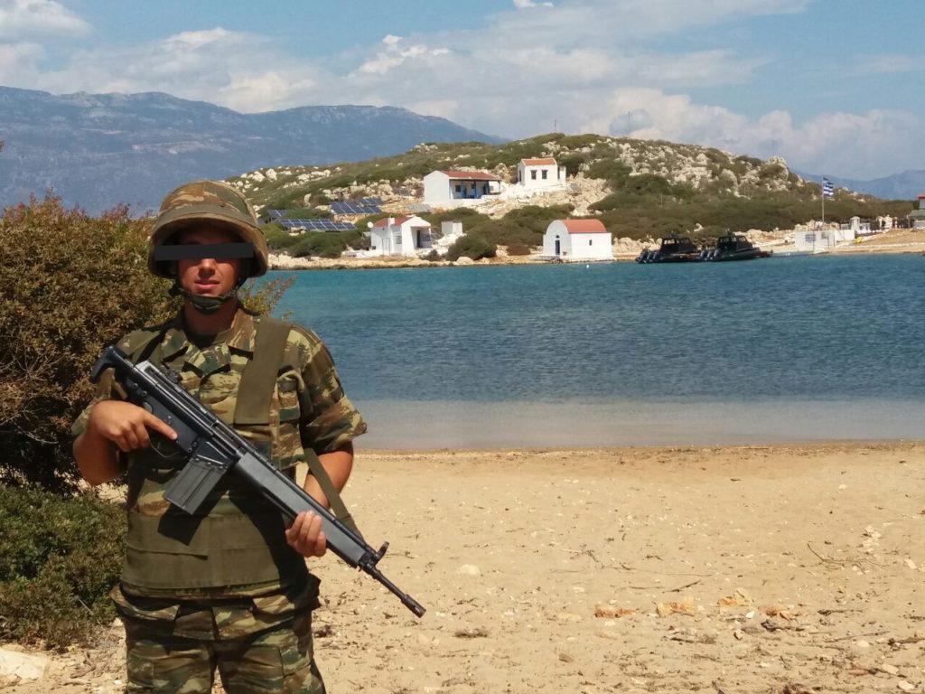Αποκαλυπτικό :Το Χουνέρι των Τούρκικων Τορπιλακάτων στο νησί της Ρώ …Κατά την επίσκεψη του Καμμένου!