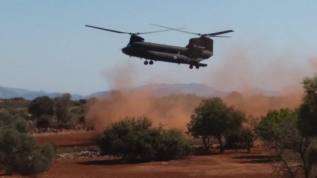 Με το πρώτο Φώς άρχισε η Αεροπόβαση Δυνάμεων στο Βόρειο Έβρο! (Φώτο)