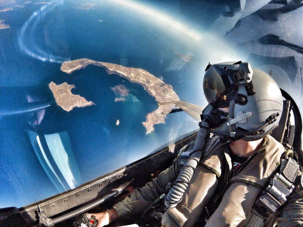 Έσκισε & τον Ουρανό της Λήμνου το «F-16 ΖΕΥΣ»…Στην Επέτειο της Απελευθέρωσης του νησιού! ( video)