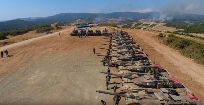 Εδώ σταμάτησε ο Τούρκος …Εντυπωσιακό Video HD από την ΆΣΚΗΣΗ «ΠΑΡΜΕΝΙΩΝ» και με τη χρήση Drone!