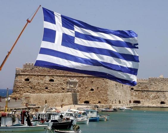 Υψώνουν τεράστια Ελληνική Σημαία στο «Κάστρο της Κρήτης!»