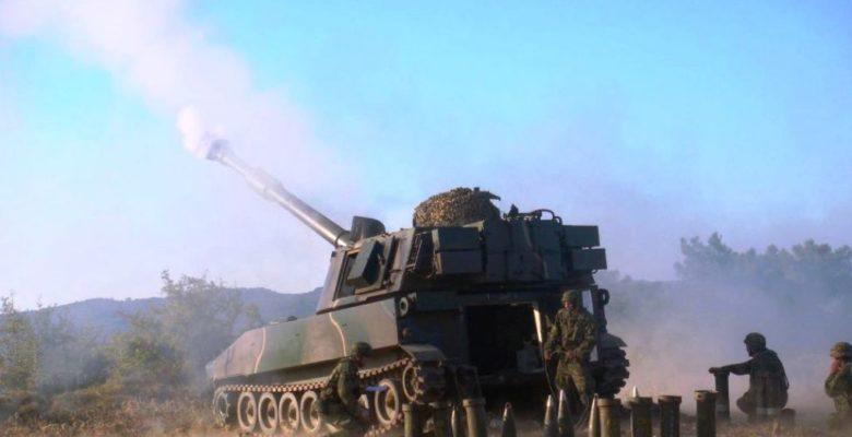 Βολές Πυροβολικού, Βαρέων Όπλων και Πολλαπλών Εκτοξευτών Πυραύλων από τη 98 ΑΔΤΕ στη Λέσβο!