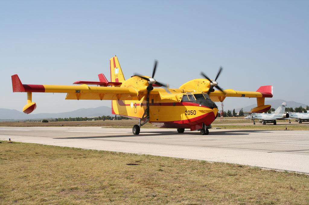 Απογειώθηκαν τα Ελληνικά Canadair CL-415 της 113ΠΜ της Μίκρας με …Προορισμό το Ισραήλ!
