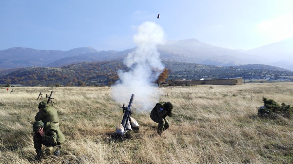 Βολές Βαρέων Όπλων Πεζικού μέσα στο καταχείμωνο και στη ….Φλώρινα! (φώτο)