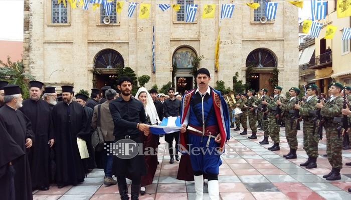 Με Λαμπρότητα ο Εορτασμός για την 103η Επέτειο από την Ένωση της Κρήτης με την Ελλάδα. (Video)