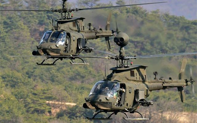H Επέλαση των 70 Ε/Π «OH-58D Kiowa «…Με μόλις 45 εκ.$ θα θωρακίσουμε τα Βόρεια και θαλάσσια Σύνορα μας! (vid)