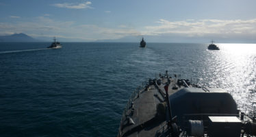 20160310-SNMCMG2-AS PART OF EX. ARIADNE 2016, PHOTEX WAS CONDUCTED BTW SNMCMG2 UNITS AND GREEK NAVY IN IONIAN SEA-10MAR2016-Photo by F.SEZGIN (SNMCMG2 Staff)