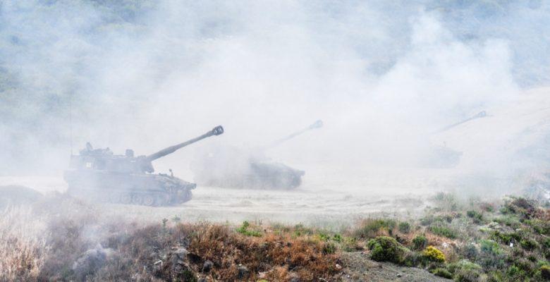 Βολές Πυροβολικού Μάχης των Πυροβόλων «Μ109Α3» & Εκτοξευτών «MLRS RM – 70»