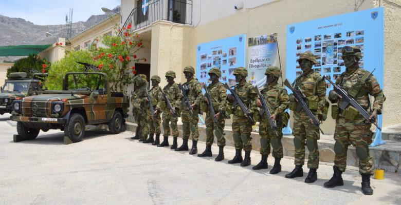 Οι Μαχητές -Εθνοφύλακες του 5/42 ΣΕ της Καλύμνου …Σε επίδειξη Ισχύος!