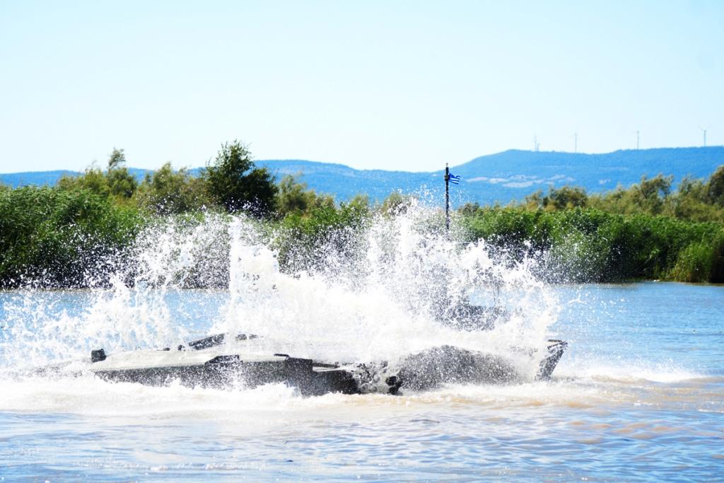 Μπορούμε και εμείς να το Περάσουμε…. » Βιαία Διάβαση Ποταμού» από την «31 Μ/Κ ΤΑΞ » (φωτό)
