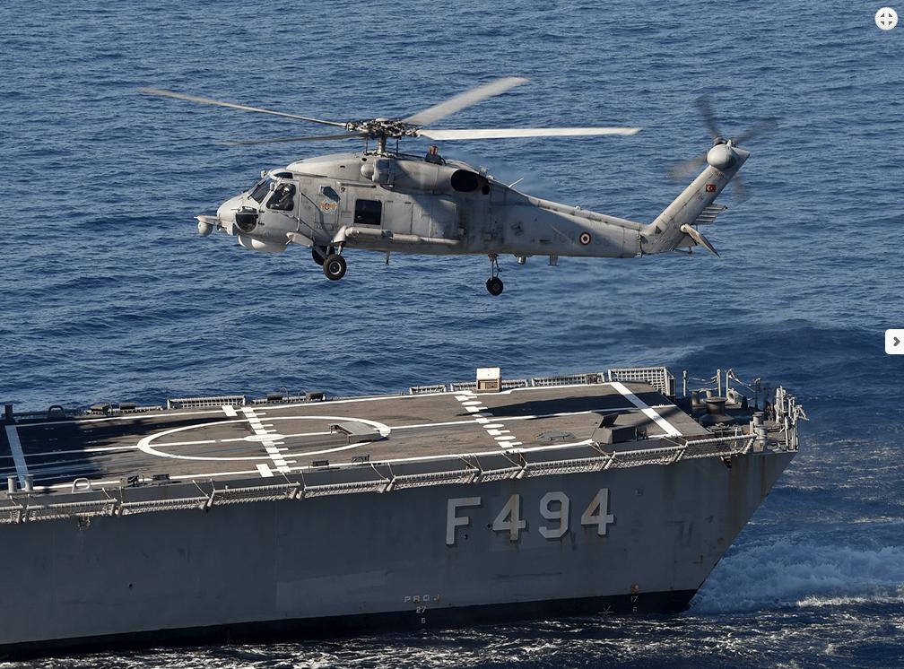 Απο Αλάργα στα 70νμ Β.Δ της Πλατφόρμας είναι οι Τούρκοι …Ενώ μόλις στα 20νμ το «USS George H.W. Bush»