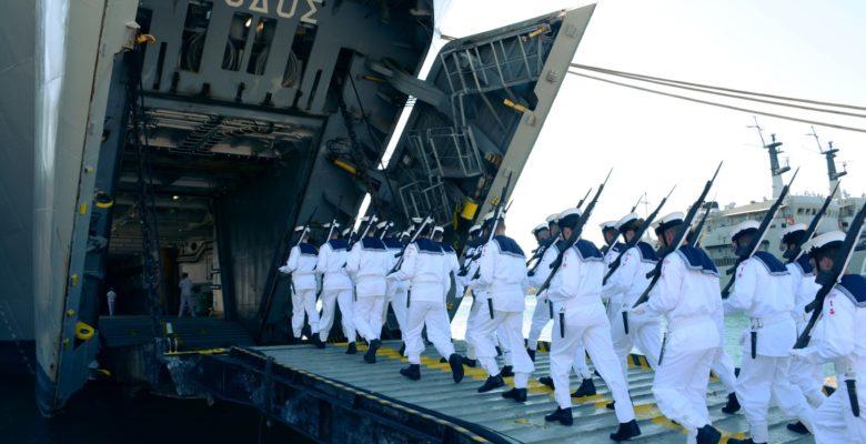 Στο Πόδι η Λεμεσός …Αναμένεται να καταπλεύσει το Αρματαγωγό «Ρόδος» του ΠΝ με τον ανθό της Ελλάδος!.
