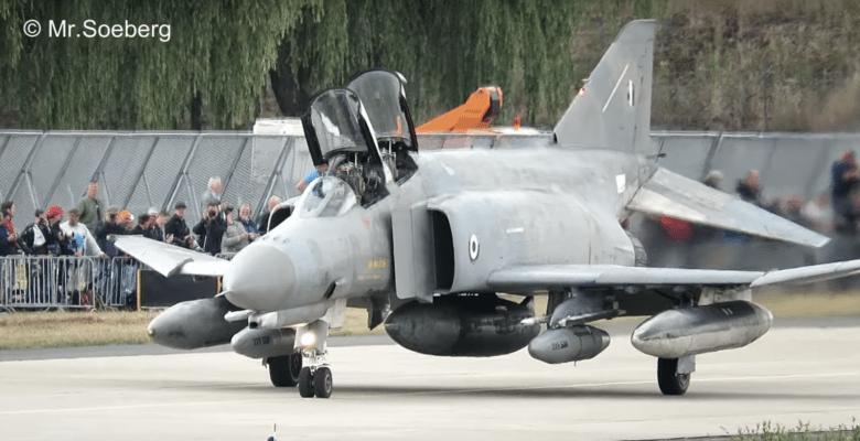 Τα Ελληνικά F-4 της ΠΑ εντυπωσίασαν και χειροκροτήθηκαν από …37χιλιάδες Γερμανούς (video)