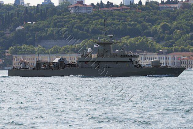 Τα φώτα των Τούρκικων ΜΜΕ στο Πολεμικό της Ελλάδος …Να περνά τα Στενά!