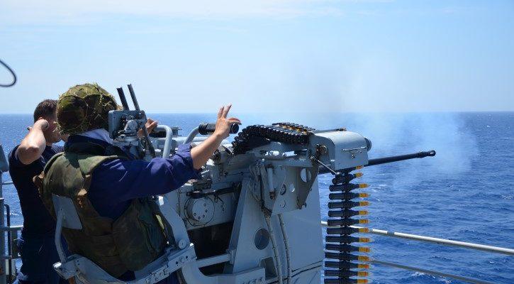 Στιγμιότυπα από την εκπαίδευση των δοκίμων υπαξιωματικών του Πολεμικού Ναυτικού