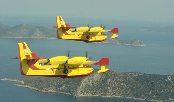 Πριν Αλέκτωρ λαλήσει …Απογειώθηκαν τα CL-415!