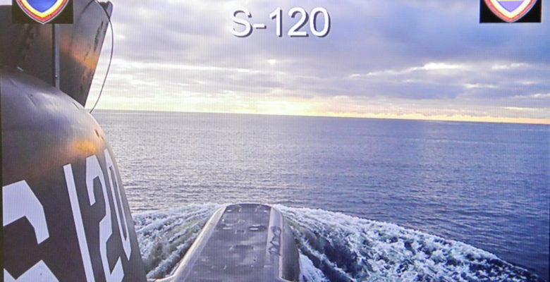 Σοκ στο Κόλπο των Μεγάρων …Εκτόξευση Τορπίλης από το Υ/Β «ΠΑΠΑΝΙΚΟΛΗΣ » (φωτό)