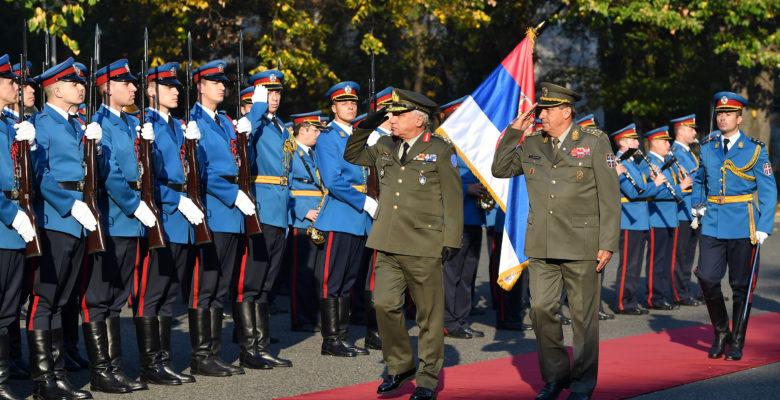 Ο Έλληνας Στρατηγός της Ε.Ε στη Σερβία …«EU Defence:Stronger Τogether».