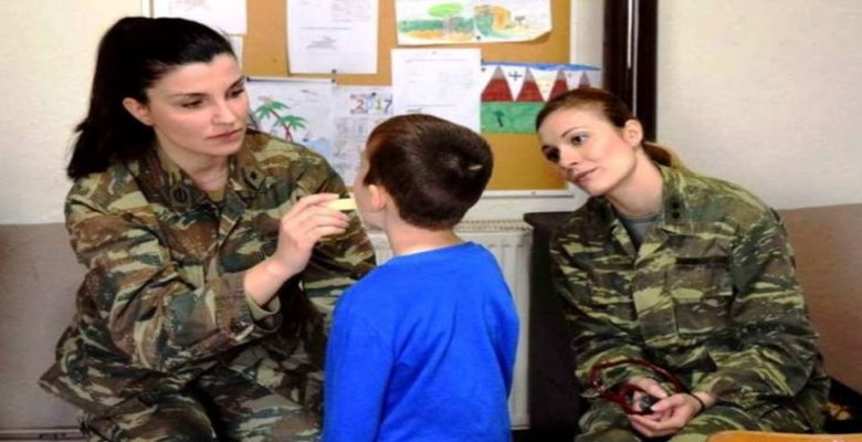 Στρατιωτικό Ιατρικό κλιμάκιο στα Μαράσια Ορεστιάδος!