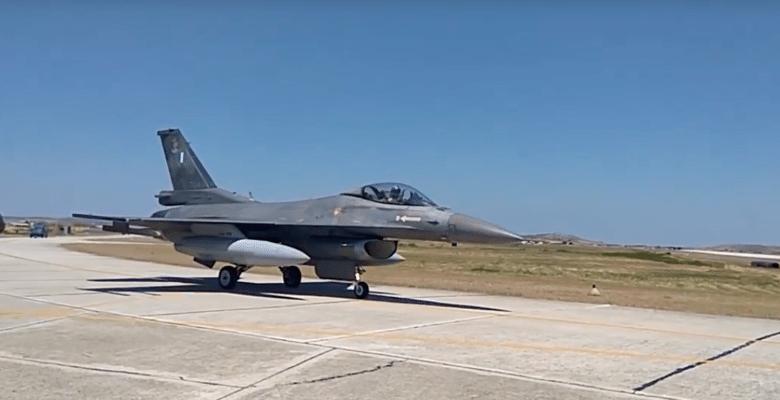 Οι «Κεραυνοί» στο Αιγαίου …Οι Τσαμπουκάδες των F-16 της Λήμνου!