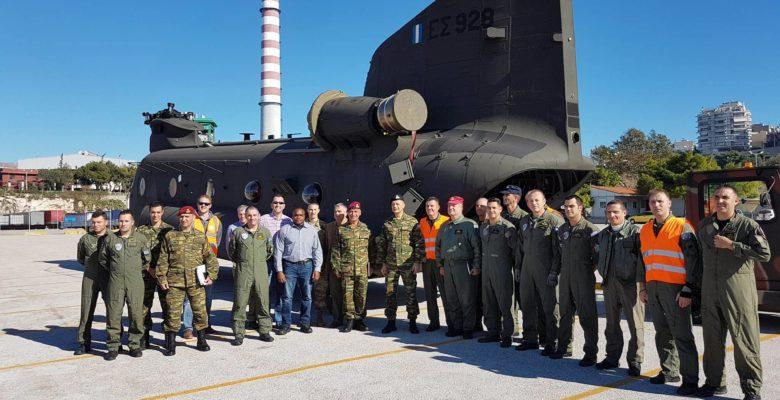 Παραλαβή 3 Ελικοπτέρων CH-47D Chinook για το Στρατό Ξηράς