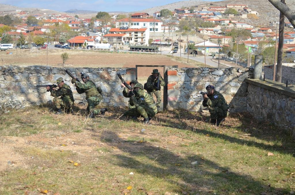 Εντυπωσίασαν τον Αρχηγό οι Εθνοφύλακες του Βορείου Τομέα … Σε άσκηση με την 9 Μ/Π ΤΑΞ-ΠΖ (φωτό)