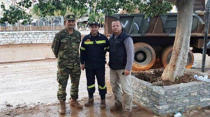 Το Ευχαριστώ των Κατοίκων της Σύμης στο Στρατό!