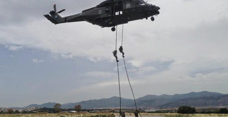 Άρχισαν τις Αεροαποβάσεις οι Καταδρομείς στο Μάλεμε! (Video)