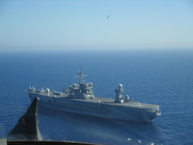 """Άσκηση Έρευνας-Διάσωσης """"CYPEGYP – 02/17"""" στην ΑΟΖ της Κύπρου!"""