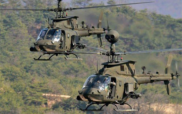 Την αγορά των 70 ελικοπτέρων OH-58D Kiowa ενέκρινε το ΚΥΣΕΑ