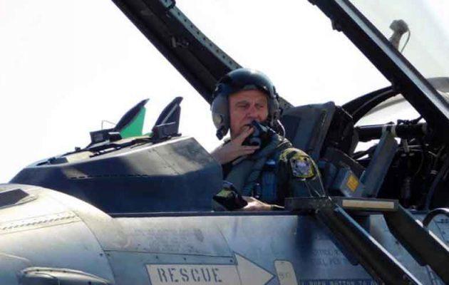 Σε πτήση σόλο ο Α/ΓΕΑ με F-16C/D Block 52+ της 337Μ της 110ΠΜ…»Όπου και τα άκουσε!»