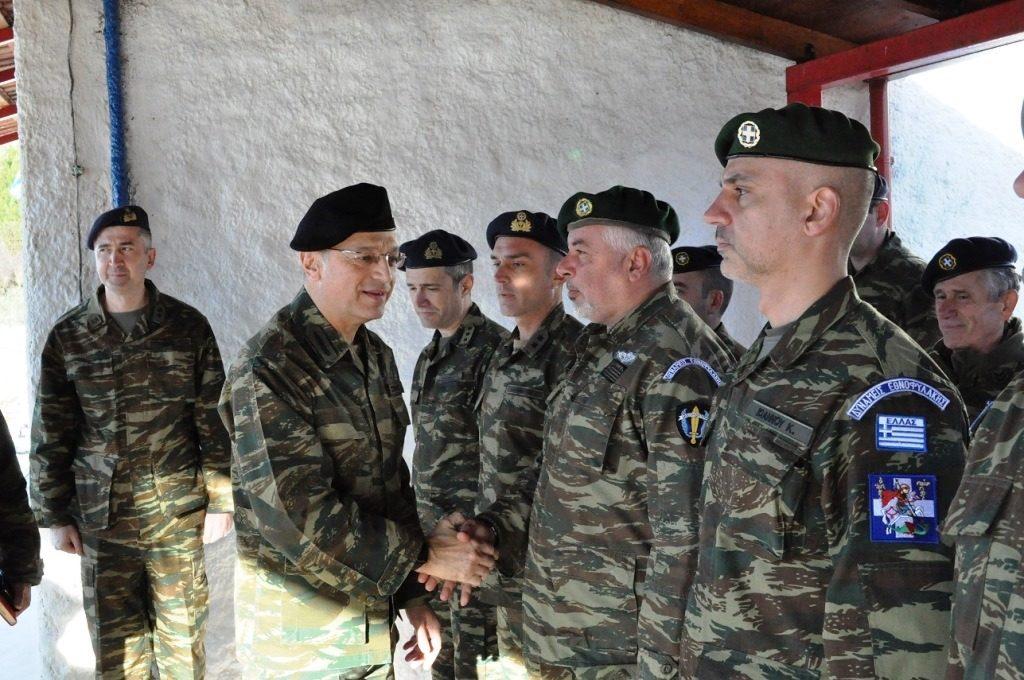 Με τους Εθνοφύλακες της Ηπείρου στον «ΑΕΤΟ» ο Α/ΓΕΣ….Όπου και τα άκουσε Ηπειρώτικα!