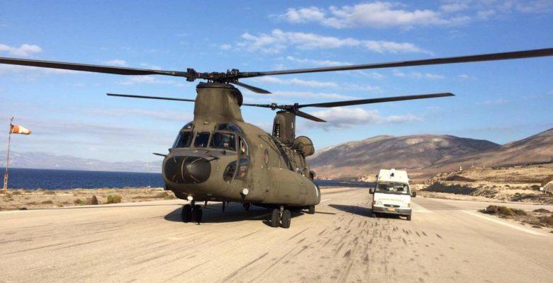 Και η Αεροπορία Στρατού νυχθημερόν στις Αεροδιακομιδές….