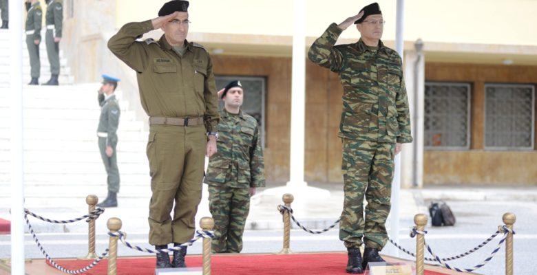 Επίδειξη Αρμάτων στο ΚΕΤΘ…Παρουσία Αρχηγού των Χερσαίων Δυνάμεων του Ισραήλ!