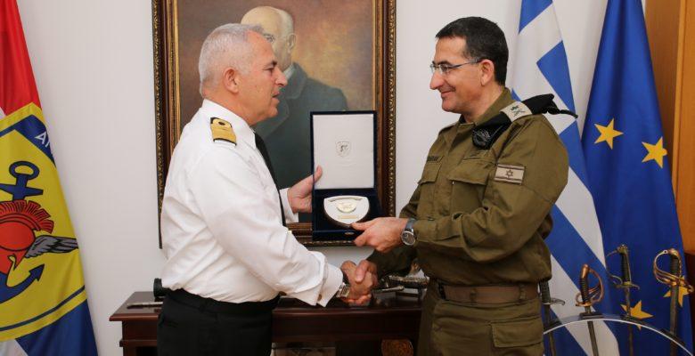 Συνάντηση του Α/ΓΕΕΘΑ με τον Αρχηγό Χερσαίων Δυνάμεων του Ισραήλ Major General Yacov Barak