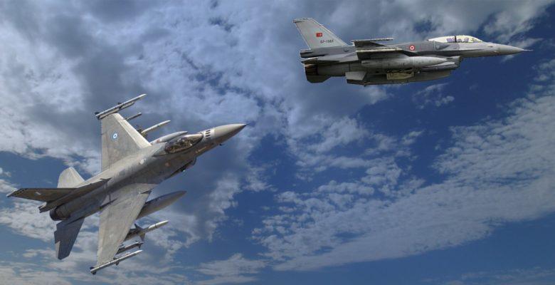 Ντοκουμέντο : Tα Αστέρια της 343Μοίρας …Κυνηγούν Τούρκικους «μπούφους» στο Αιγαίο! «video»