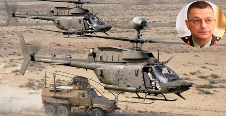 Στην 1Η ΤΑΞΑΣ ο Α/ΓΕΣ για Πτήση με Απάτσι & Ενημέρωση για τα «OH-58D Kiowa»!