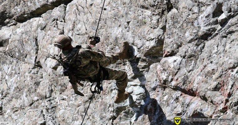 Εκπαίδευση Κυπρίων Καταδρομέων σε Ορεινό Αγώνα…(φωτό)