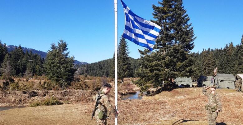 Οι Σπουδαστές της ΣΜΥ πήραν τα όπλα και …Βγήκαν στα Βουνά ! (φωτό)