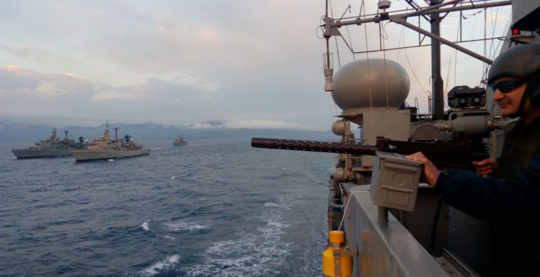 «Με αστραπές και Βροντές» βγήκε ο Στόλος στο Αιγαίο…Αλλά παραμένει στο Κ.Αιγαίο! (video)