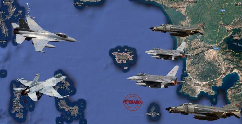 Υποκλινόμαστε στην 337Μ …Τα 2 Ελληνικά Γεράκια τα έβαλαν με μισή Ντουζίνα Τούρκικα !