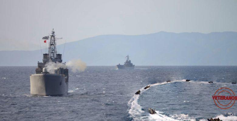 Απόβαση Πεζοναυτών και Κομάντος της ΔΥΚ με την… Υποστήριξη Ναυτικών Μονάδων & Μαχητικών στον Παγασητικό (φωτό)