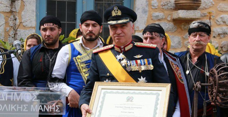 Η Επιστροφή του Στρατηγού Κωσταράκου …Έρχεται απο τη Μάνη!