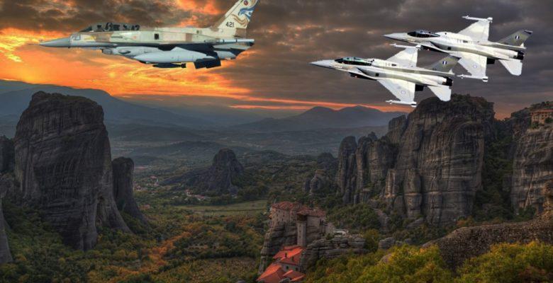 Χαμηλές Πτήσεις Μαχητικών και «Βομβαρδισμός» του Π.Β της Κρανέας (ΗΝΙΟΧΟΣ 2018)